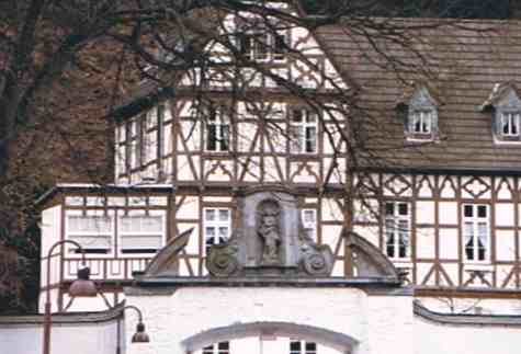 Welcoming Facade at a German Country Inn