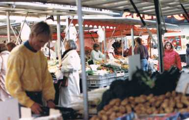 German Market in the Square