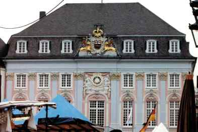 The Beautiful City Hall in Bonn